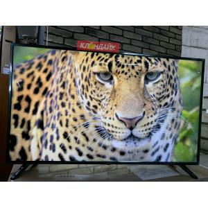 Телевизор ECON EX-60US001B - огромная диагональ, уже настроенный Смарт ТВ под ключ с голосовым управлением в Молочном фото